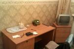 chambre, hôtel, soviétique, téléphone